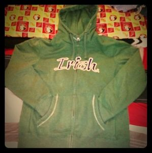 Notre Dame Irish Full Zip Hoodie